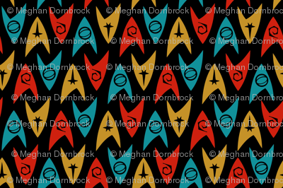 Star Trek TOS Insignias (4-color) TINY
