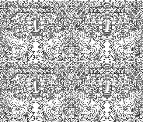 The_Royal_Garden fabric by soobloo on Spoonflower - custom fabric