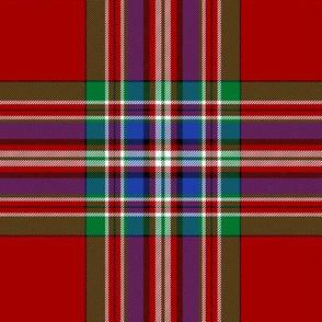 "MacFarlane red tartan #2, 6"""