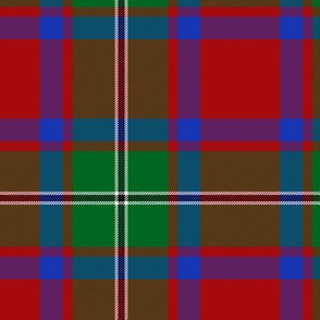 "MacPhail tartan, blue bands, 6"""