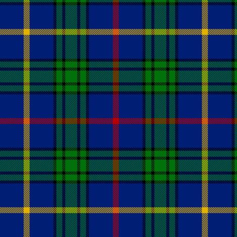 "MacCainsh tartan, 6"" navy fabric by weavingmajor on Spoonflower - custom fabric"