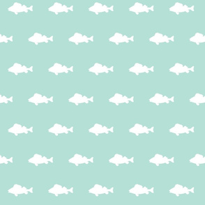 fish run on mint
