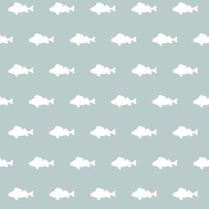 fish run on Pond