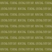 Hunting. Fishing. Loving Everyday // Moss