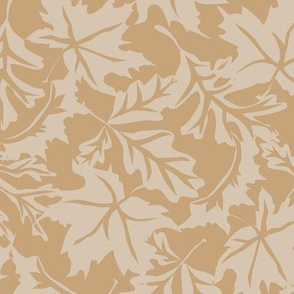 Fall_Leaf_Background_Pattern Brown