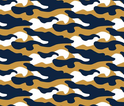 Notre_Dame_Camo fabric by rick_rack_scissors_studio on Spoonflower - custom fabric