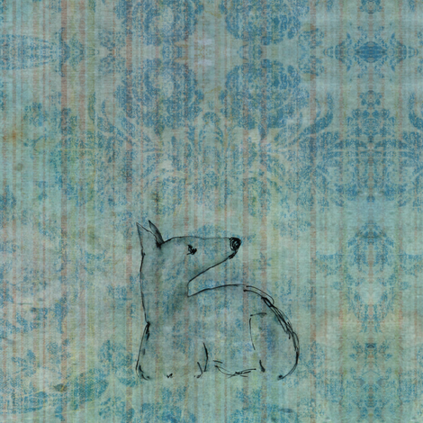 little sighthound fabric by nikitasaami on Spoonflower - custom fabric