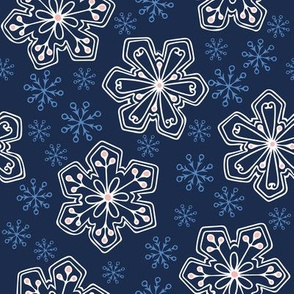 Lacy Snowflakes