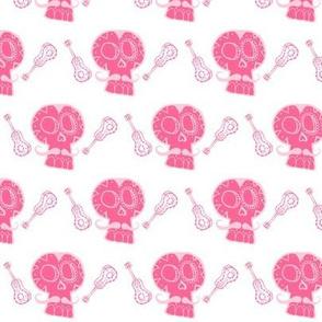 Dancing Pink Skulls