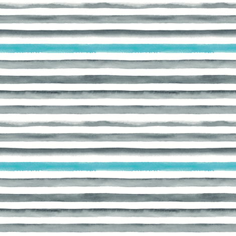 Watercolor Stripes fabric by portage_and_main on Spoonflower - custom fabric