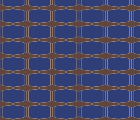 subway_grate_logo fabric by jeanherrondesign on Spoonflower - custom fabric