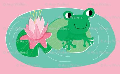 Frog Pond Pink