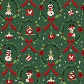Christmas Wreaths (Green)
