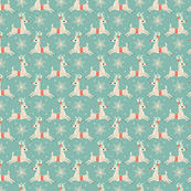 Small Reindeer (Light Blue)