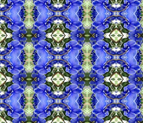 BLUE LIGHT_Wonder_2015-03-31_14 fabric by nettxus on Spoonflower - custom fabric