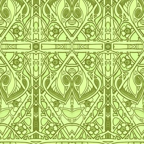 Celtic Spring fabric by edsel2084 on Spoonflower - custom fabric