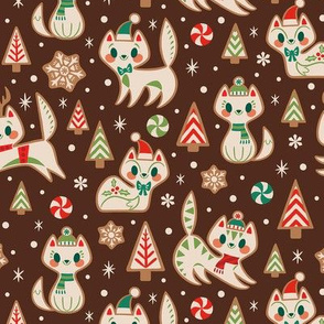 Gingerbread Kitties (Brown)