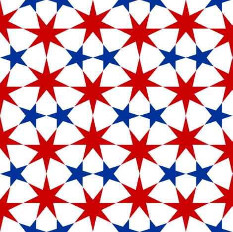 06935558 : U75X E2 : UK stars fabric by sef on Spoonflower - custom fabric