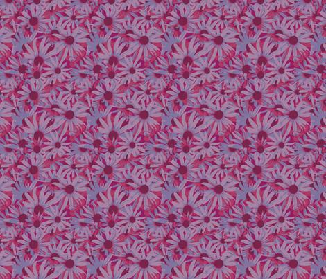 Daisy_Heaven-01 fabric by jillcookdesigns on Spoonflower - custom fabric