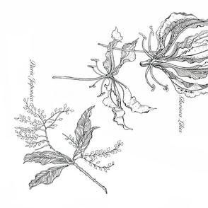 gloriosa_Pieris_spoonflower
