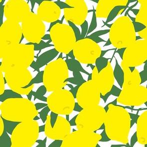 Art Deco Minimalist Lemon Grove