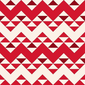 Red Ribbon Zig Zags