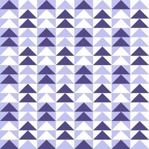 Flying Geese Purple 1/2in