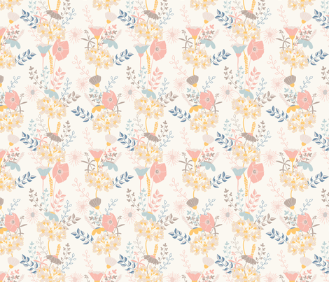 Floralia 1 fabric by sharonelliott on Spoonflower - custom fabric