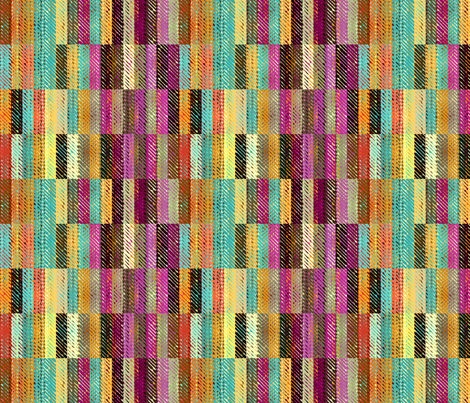 Bohemian Vibration fabric by joanmclemore on Spoonflower - custom fabric
