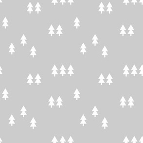 trees || light grey