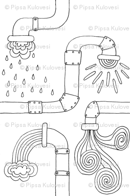 Weather pipes