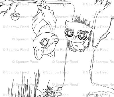 Bat & Owl