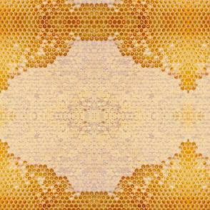 honey comb glow