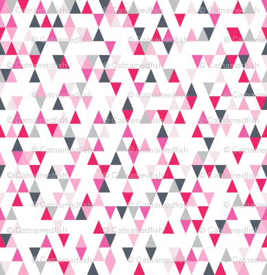 Tiny Pink Triangles