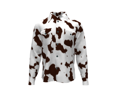 Western Cowhide - Brown