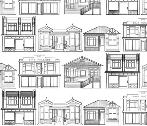 Streets in Island Bay fabric by driessa on Spoonflower - custom fabric