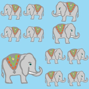 Marching Elephants