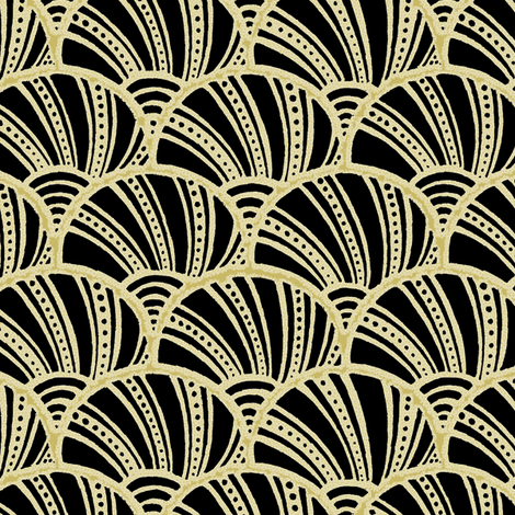 Les Coquillages 3a fabric by muhlenkott on Spoonflower - custom fabric
