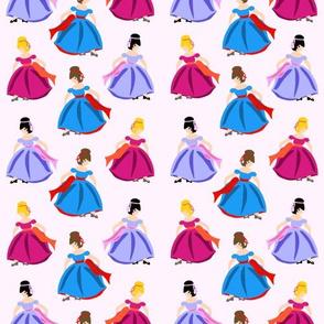 Dancing Princesses Pink
