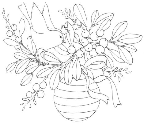 A Cheery Bouquet fabric by divadeba on Spoonflower - custom fabric