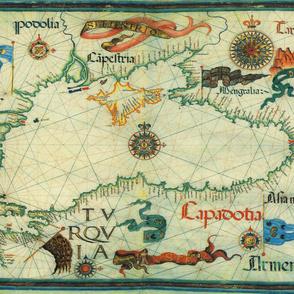 "1559 Black Sea Map (54""W)"