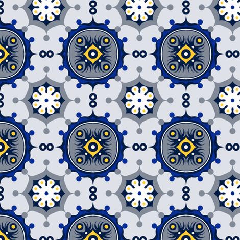 Mod Limited Coordinate fabric by jadegordon on Spoonflower - custom fabric