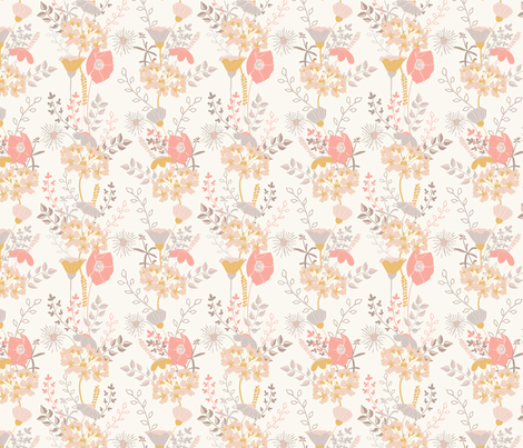 Floralia 13 fabric by sharonelliott on Spoonflower - custom fabric