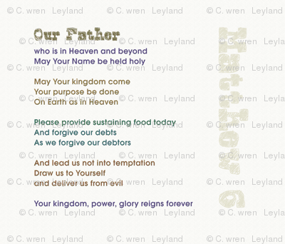 Lords Prayer - Our Father