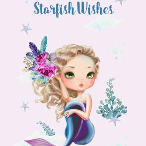 "42""x72"" Lilac Mermaid / Lilac Background"