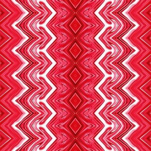 Red and White Rickrack Stripes