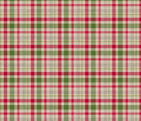 rustic christmas plaid fabric by color_amazing_designs on spoonflower custom fabric - Christmas Plaid Fabric