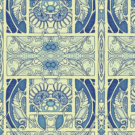 Take Me Back to 1911, Please fabric by edsel2084 on Spoonflower - custom fabric