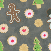 Gingerbread Cookies and Shortbread Holiday Treats