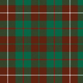 "MacKinnon hunting tartan #3, 6"""